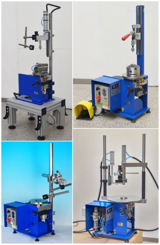 clamping system of positioners
