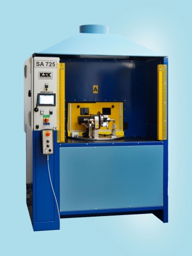 SA 725 - automatic welding machine for welding of construction drain elements